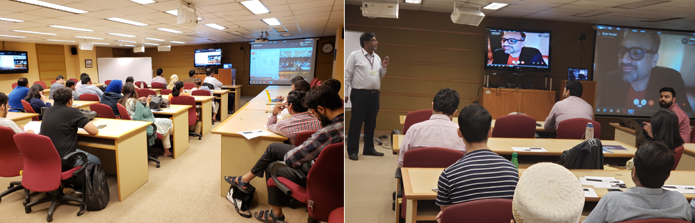 Guest Speaker session on B2B Marketing by Mr. Rishi Pardal