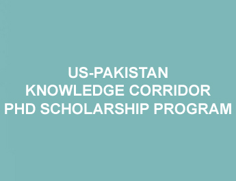 HEC Scholarship (US-Pakistan Knowledge Corridor PhD Scholarship Program) - Fall '17 & Spring '18