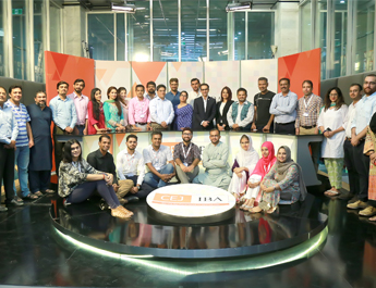 Aug 7, 2018: Humanitarian reporting workshop held at CEJ-IBA