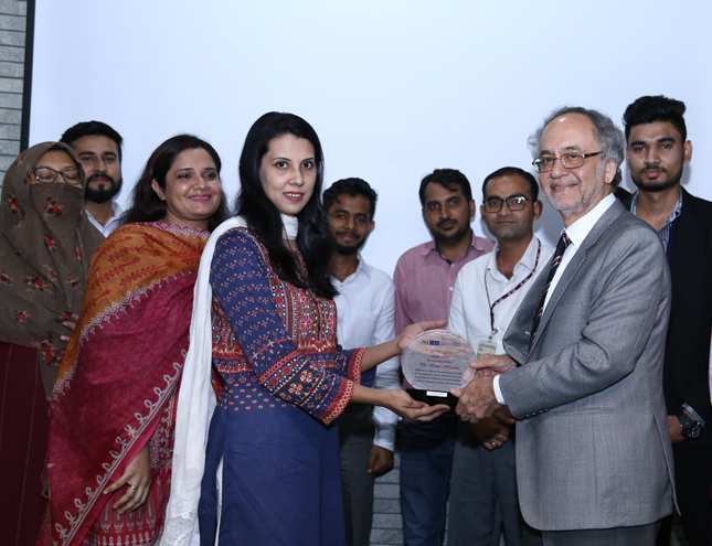 IBA bids farewell to Dr. Izhar Hussain