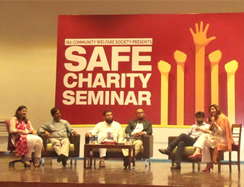 May 3, 2017: IBA conducts a Seminar on Safe Charity