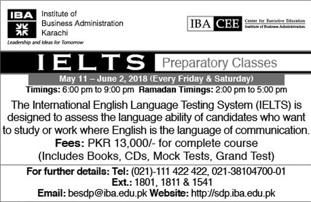 IELTS Preparatory Classes