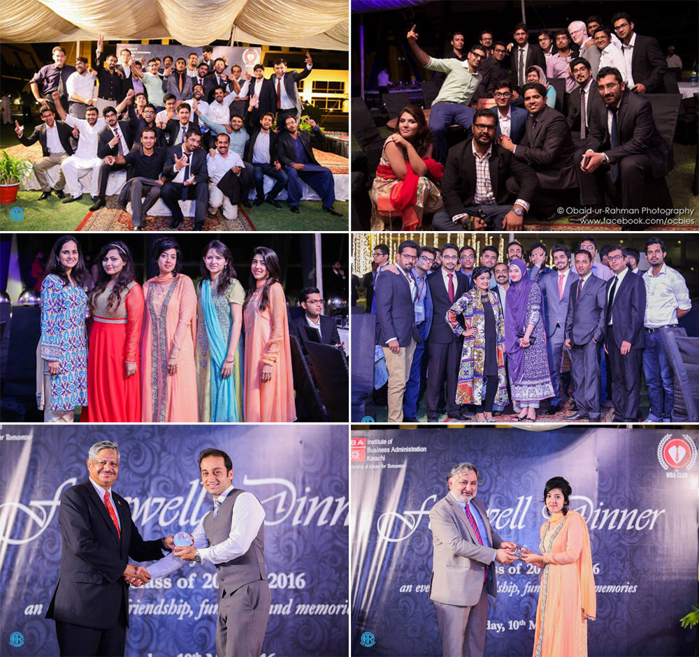 IBA MBA Club bids farewell to the graduating classes of 2015 & 2016
