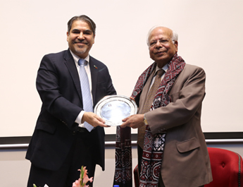 Mar 30, 2018: IBA Distinguished Lecture Series by Dr. Ishrat Husain