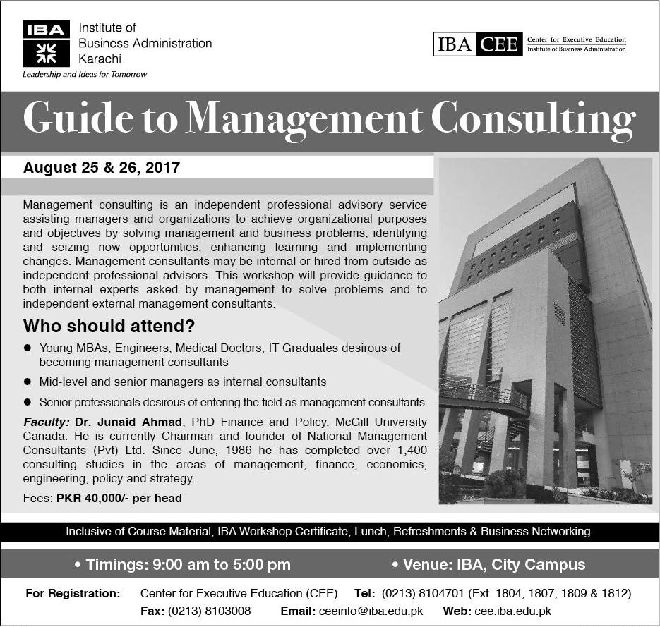 Guide to Management Consulting