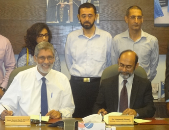 IBA Signs MoU with The Citizens Foundation to further education to all socio-economic classes