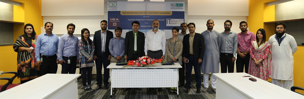 IBA to participate in 6th Pakistan CIO Summit & Expo as Academic Strategic Partner