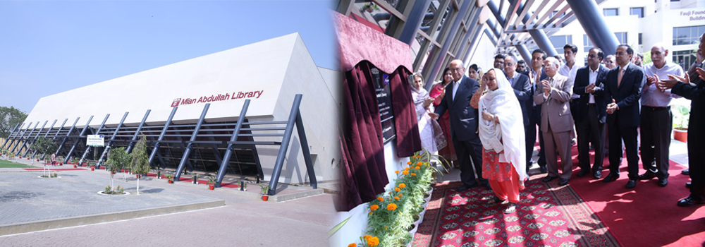 IBA Welcomes Mian Mohammad Abdullah ESQ For The Inauguration Of Library