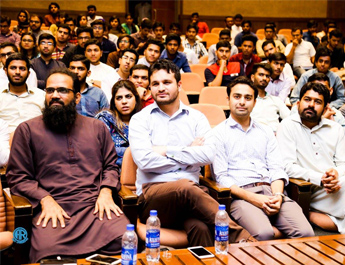 Sep 22, 2017: IBA AMAN CED & Tech Valley Abbottabad jointly organized an information and awareness session on Freelancing