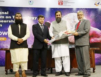 Aug 19-20, 2016: IBA CED organized an International Symposium on Technology Entrepreneurship in Islamabad