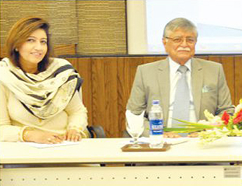 May 29, 2017: IBA hosted a Jang Forum on 'Pakistan's Foreign Policy and Arab Conference' at the City Campus