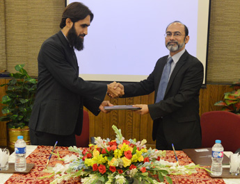 May 26, 2016: MoU signed between Institute of Capital Markets & Center for Executive Education, IBA, Karachi