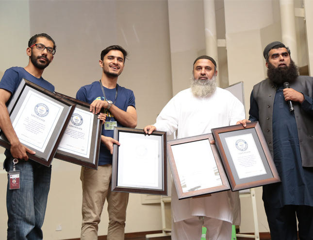 IBA Alumnus, Mr. Abdul Basit (Holder of 5 Guinness World Records) NumberTainment Session at Invent 2019