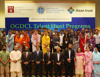 Orientation Ceremony of OGDCL Talent Hunt Programs & National Talent Hunt Program