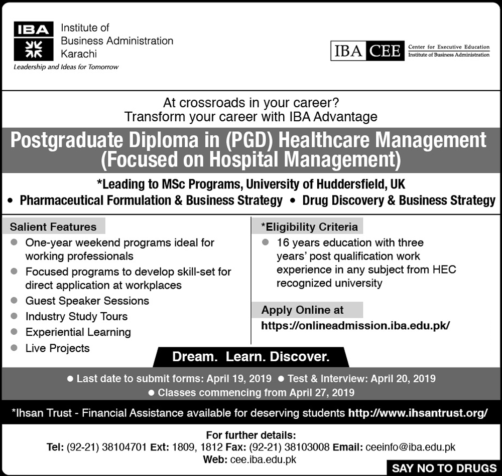 IBA CEE - PGD in Healthcare Management (Focused on Hospital Management)