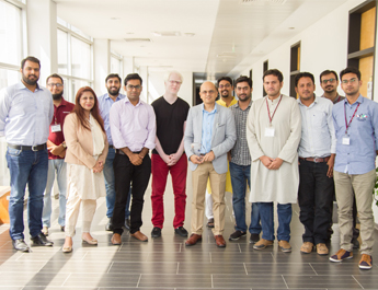 Sep 23, 2016:  Session on Radio Media Landscape in Advertising Class by Syed Mehdi Raza CEO Apna Karachi 107