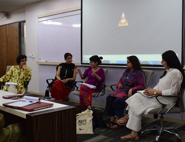 May 8, 2019: A session on Politics of Art, Public Space, and the Karachi Biennale held at the IBA