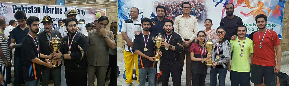 IBA Karachi stands winner for the SPORTS GALA – EVE OF DEFENCE DAY 2017  Organized by Pakistan Marine Academy