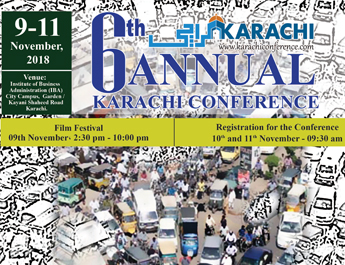 The Sixth International Karachi Conference is happening at the IBA
