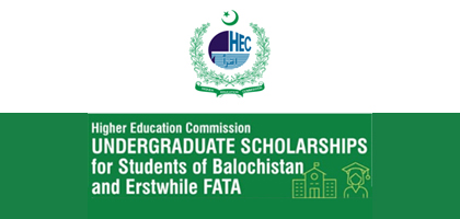 Financial Assistance for the students of Balochistan and FATA region