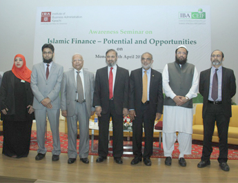 Apr 25, 2016: IBA CEIF Conducts Panel Discussion with SBP Deputy Governor Mr. Saeed Ahmad