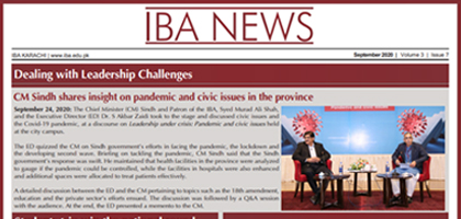 The monthly newsletter that gives you a sneak peek into the IBA