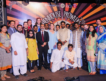 IBA in collaboration with the US Consulate General in Karachi organized a music concert