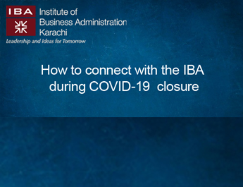 How to connect with the IBA during COVID-19 closure
