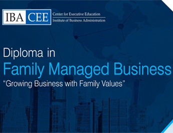 IBA-CEE Diploma in Family Managed Business