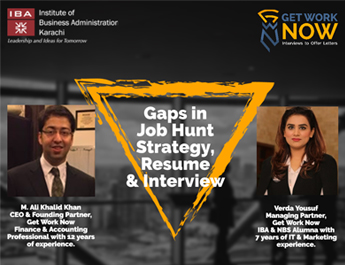 Webinar | Gaps in job hunt strategy, search, resume & interview