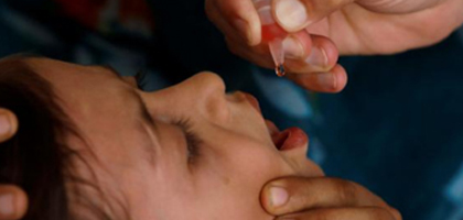 Polio vaccine critical for your child's health