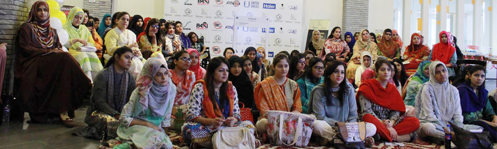 A Women Empowerment workshop 'Lemonade with Tanzila Khan' hosted  by IBA Marketing Club