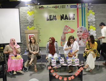 Mar 22, 2017:  A Women Empowerment workshop 'Lemonade with Tanzila Khan' hosted  by IBA Marketing Club