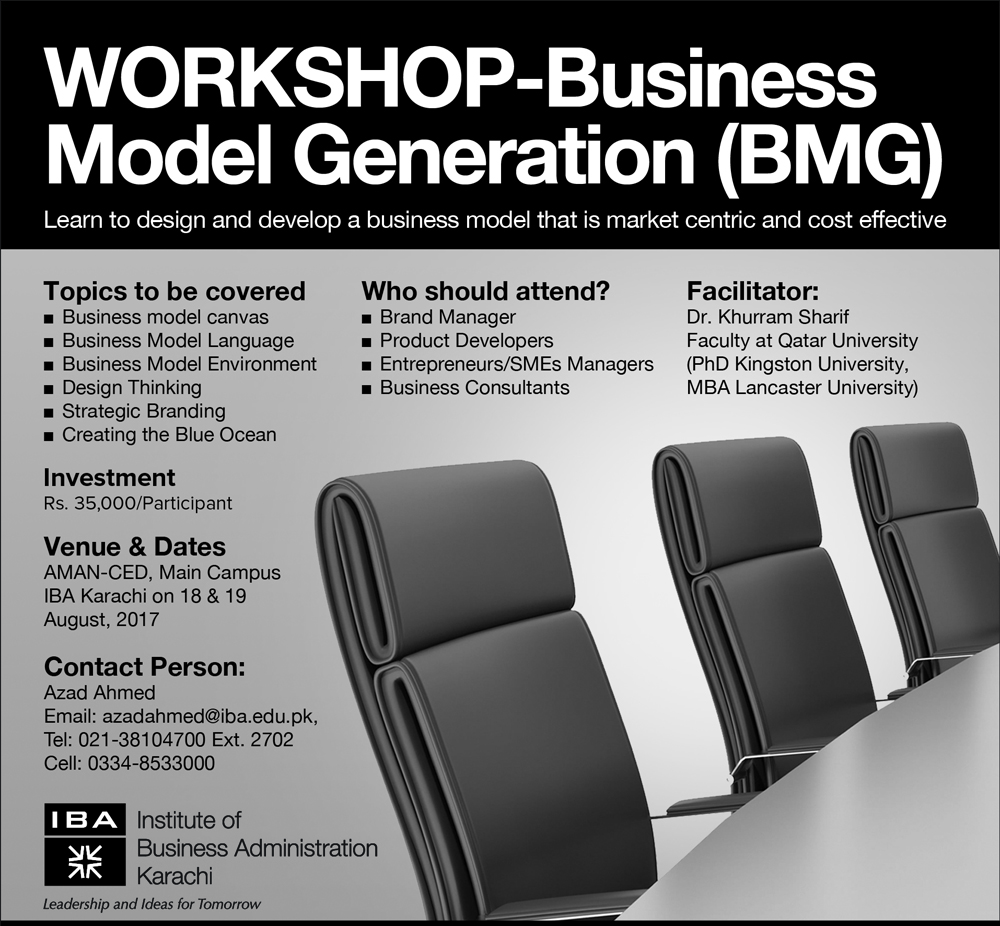 Workshop-Business Model Generation (BMG)