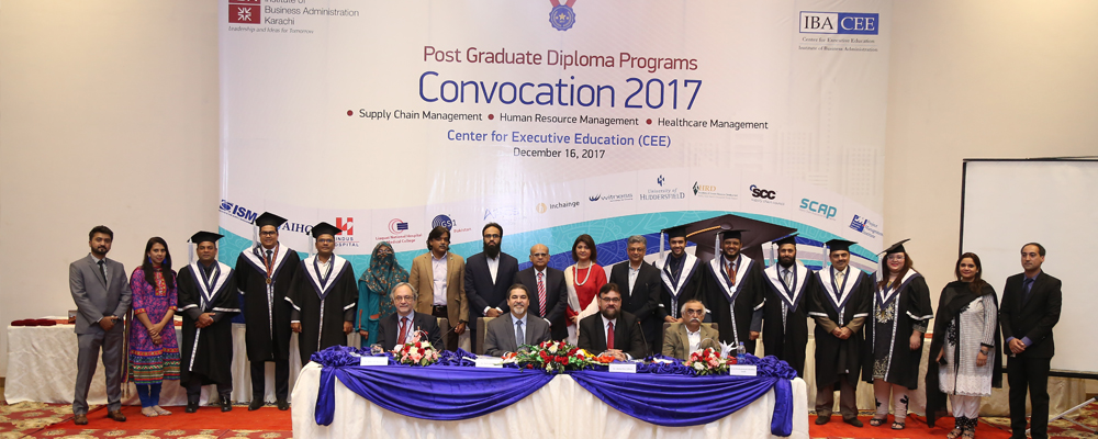 IBACEE – PGD Programs – Convocation 2017