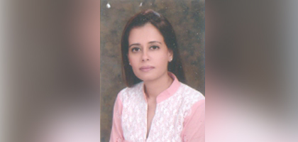 Dr. Saima Husain Assistant Professor and Chairperson – Marketing Department