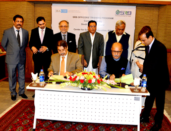 May 26, 2017: IBA-CEE Signs an MOU with Sindh Revenue Board (SRB)