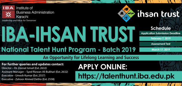 IBA Talent Hunt Program