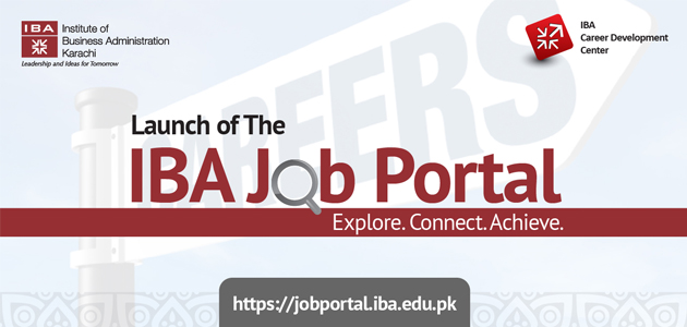 Launch of IBA Job Portal