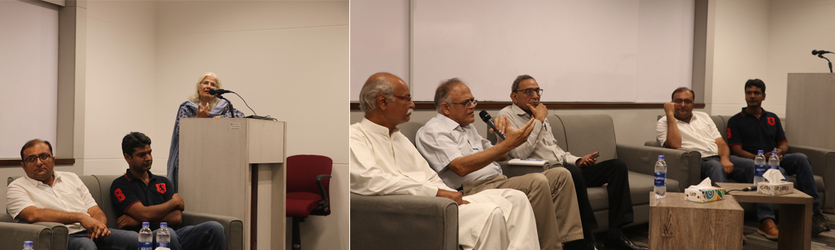 Remembering Idrees Bakhtiar and Anil Datta at CEJ-IBA